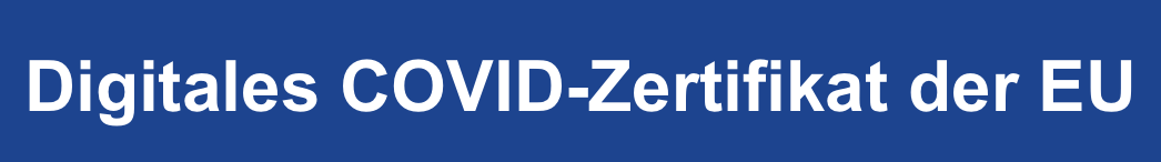 Digitales Zertifikat covid