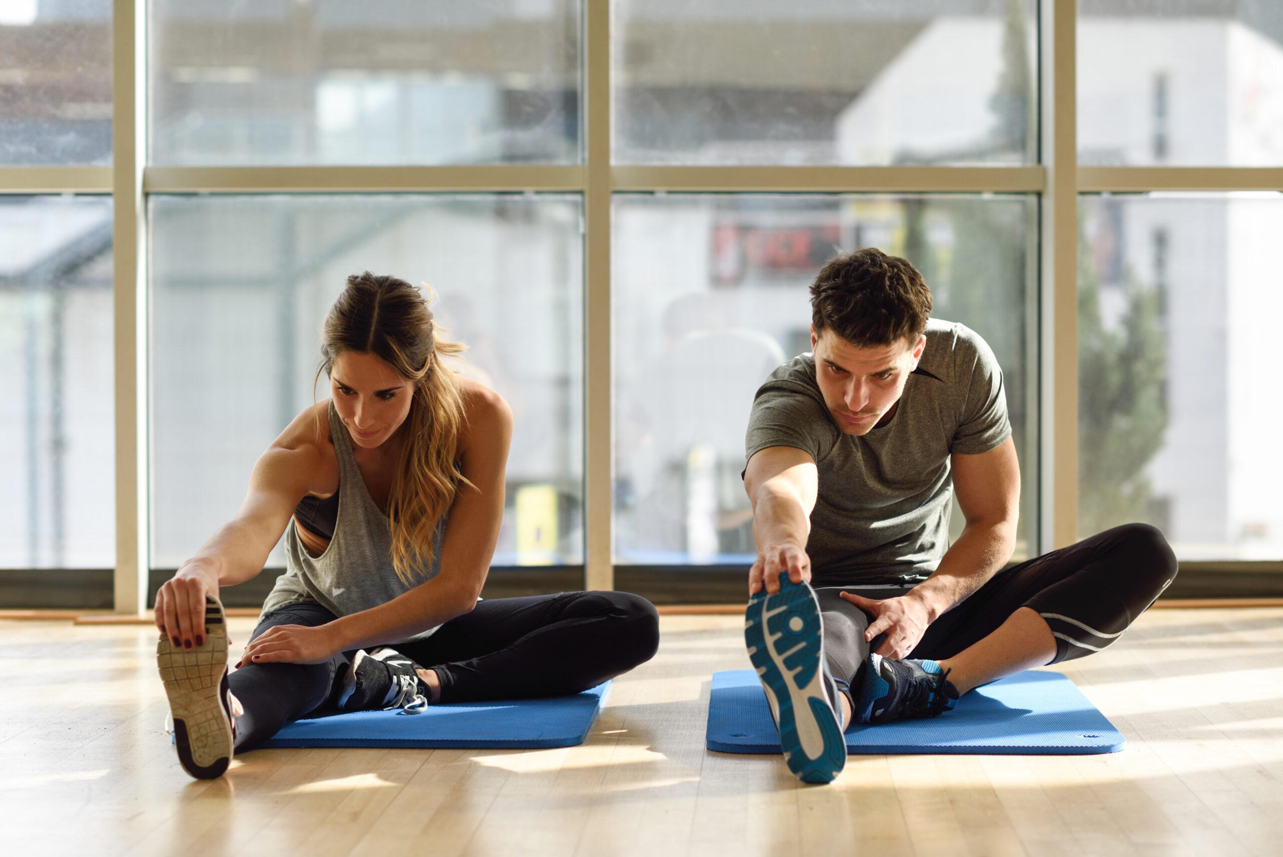 covidtest online bei Training und Fitness